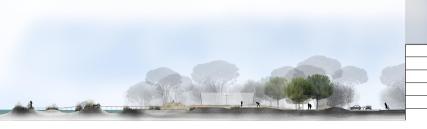 Projet à l'extérieur du grand ensemble, coté lagune