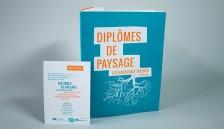 Finaliste des Jeunes talents de paysage, brochure des 6 finalistes, concours national, FFP 2015