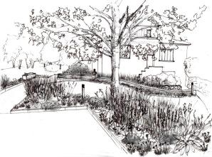 Jardin Oberhaslach - Mixed-Border