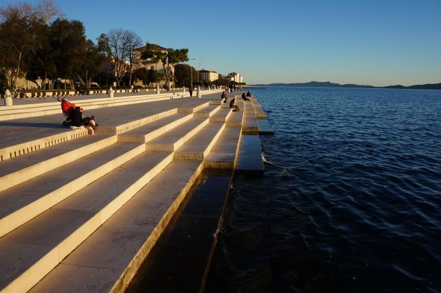 Orgue de mer, photographie personnelle, 2012