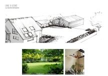 Arrière de jardin : La clairière belvédère