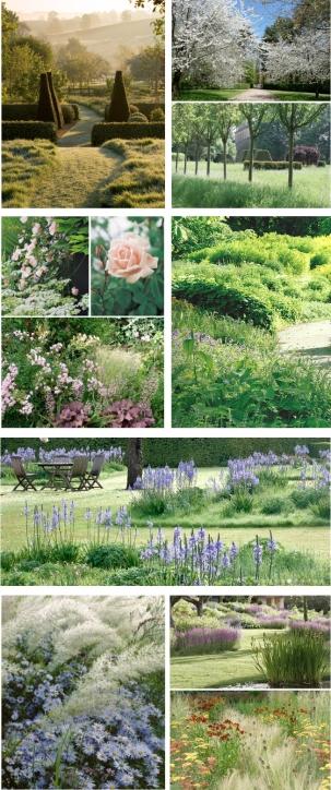 Les compositions végétales présentées ci-dessus sont des inspirations aux sources diverses (pinterest)