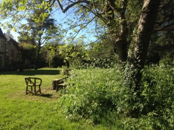 Salon de jardin en rusticage