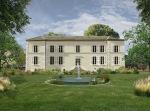 Jardin du chateau _ Bassin originale avec jet-1