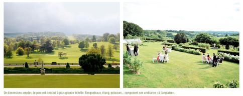 Références pour un vaste parc ouvert sur le paysage